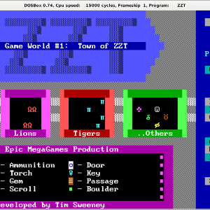 The Town of ZZT